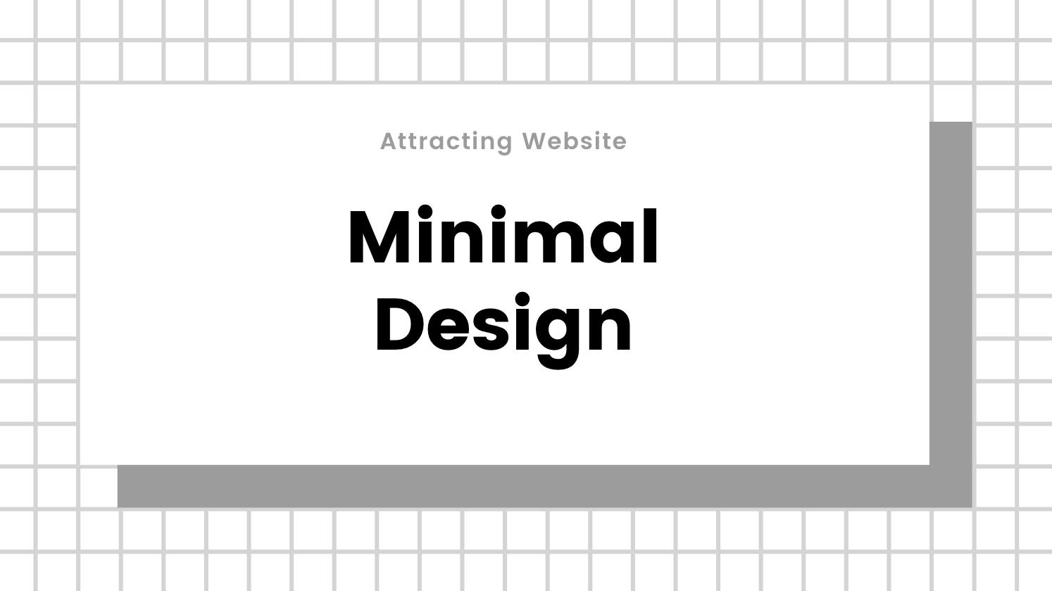 minimal design